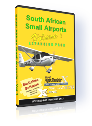 NMG South African Small Airports – Volume 1 (FSX)