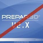 Prepar3D V2 Support Discontinued