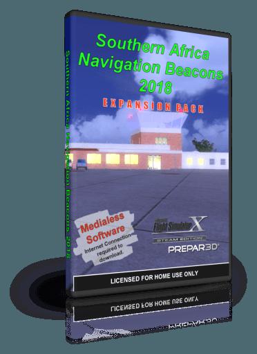 NMG Southern Africa Navigation Beacons 2018 (FSX/P3Dv4)
