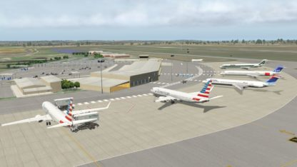 NMG George Airport V3.2 (XP11)