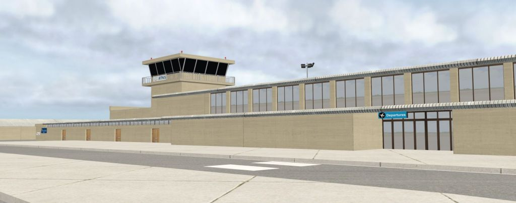 George Airport for X-Plane 11 Released!