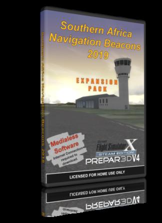 NMG Southern Africa Navigation Beacons 2019 (FSX/P3Dv4)